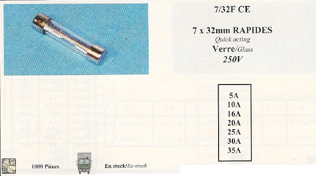 7/32F CE 7x32mm RAPIDES