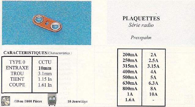 Plaquettes Série radio