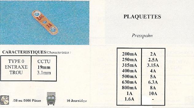 Plaquettes