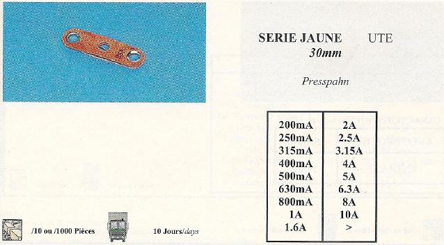 serie jaune UTE 30mm